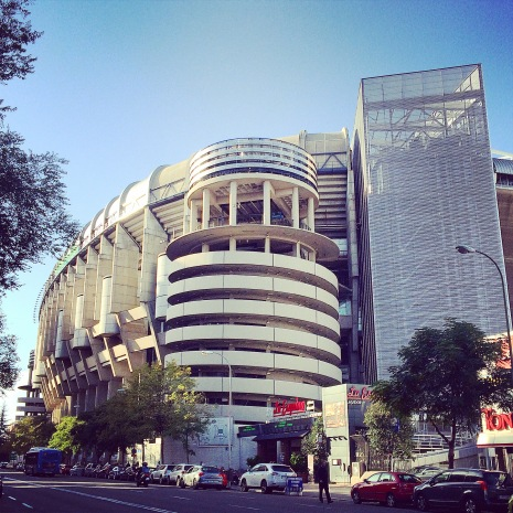 Estadio Bernabeu - Home of Real Madrid