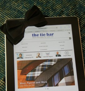 The Tie Bar Website