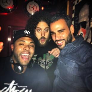 Skor, DJ Record and DJ Redrum
