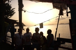 Sunset with Friends