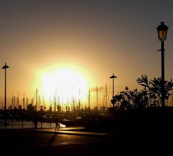 Sunset in La Linea